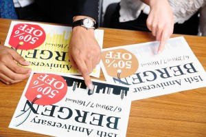 印刷物のデザイン制作